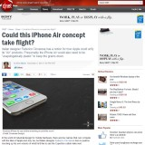 iPhone Air and Media